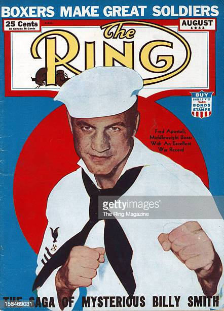 Ring Magazine Cover Fred Apostoli on the cover