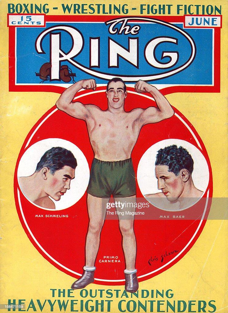 Max Baer Ring Magazine Artwork New POSTER