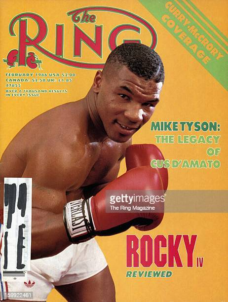 Ring Magazine Cover Mike Tyson on the cover