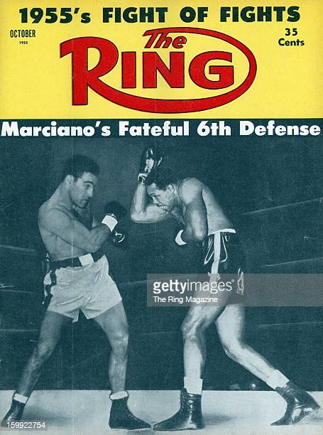 Ring Magazine Cover Rocky Marciano and Archie Moore on the cover
