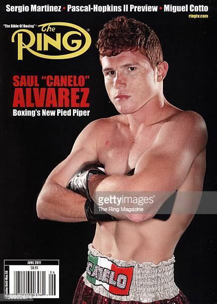 Ring Magazine Cover Saul Alvarez on the cover