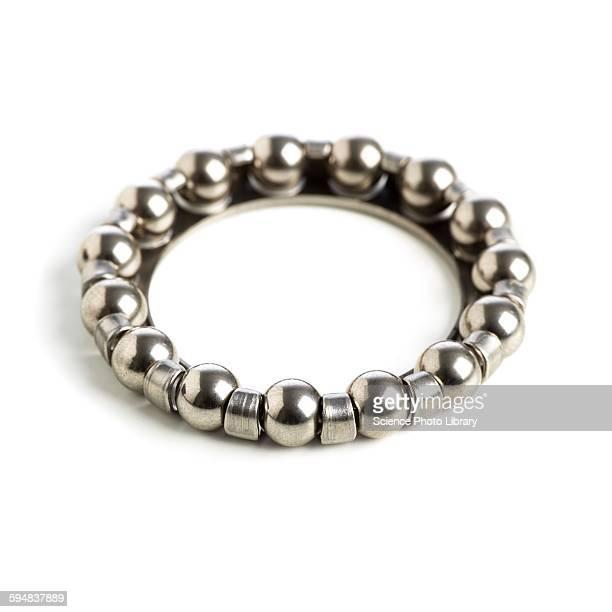Ring of ball bearings