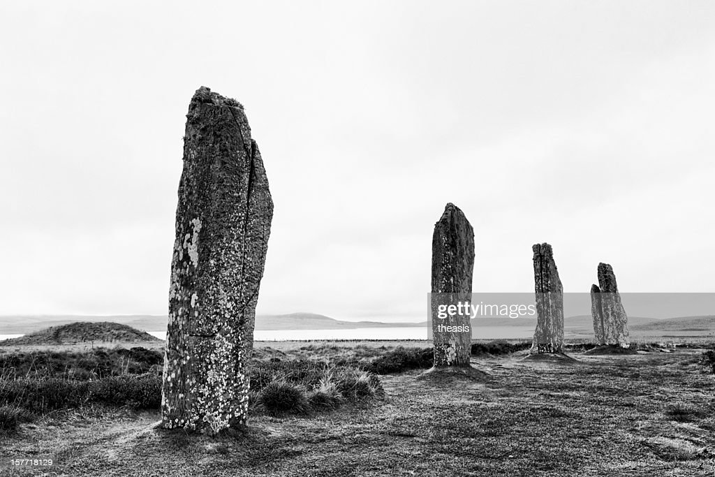Ring Of Brodgar, Orkney : Stock Photo