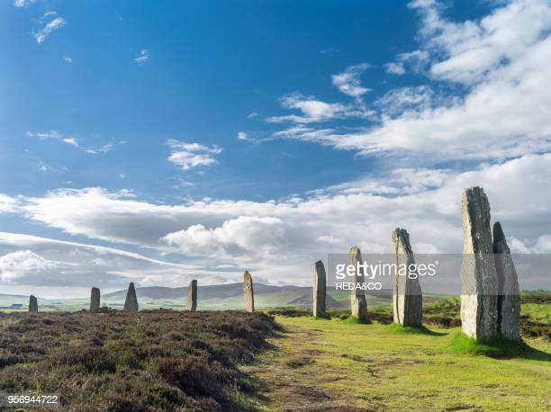 Ring of Brodgar part of the UNESCO world heritage site Heart of Neolithic Orkney This neolithic henge monument and stone circle is one of the main...
