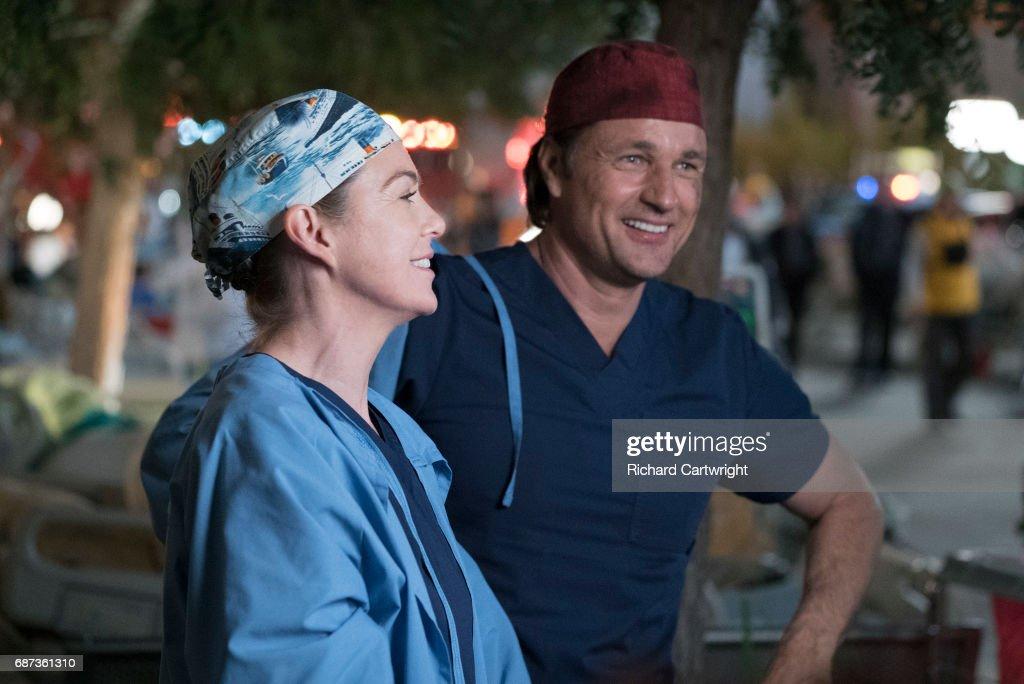 "ABC's ""Grey's Anatomy"" - Season Thirteen : News Photo"
