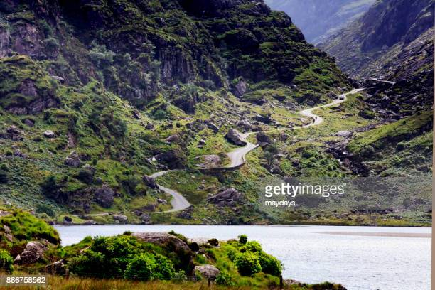 ring of kerry, ireland - ring of kerry stock photos and pictures