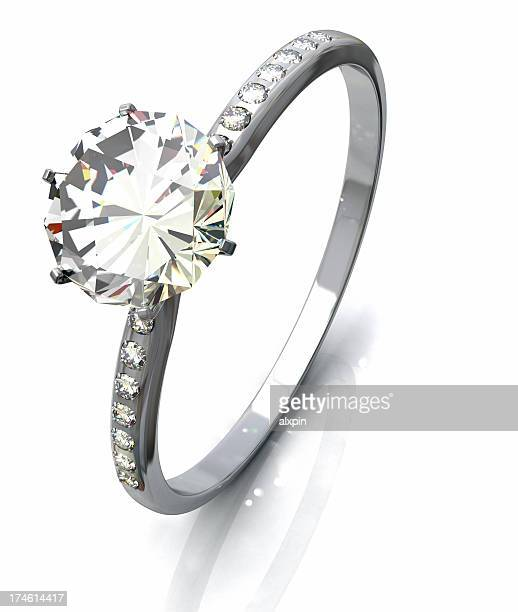 Ring mit Diamanten