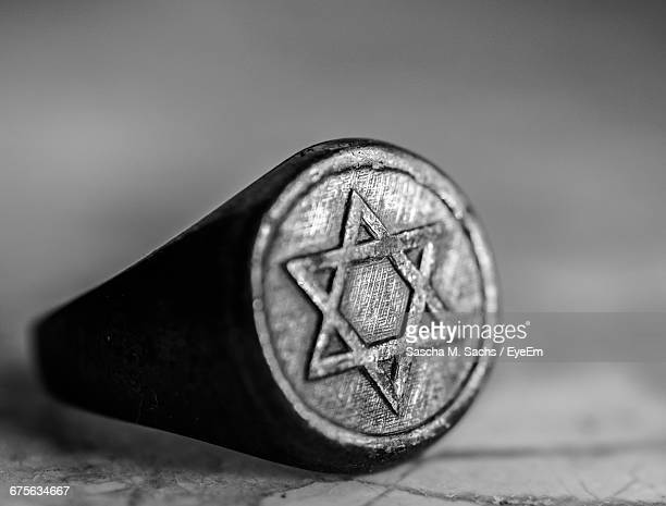 Ring With Star Of David