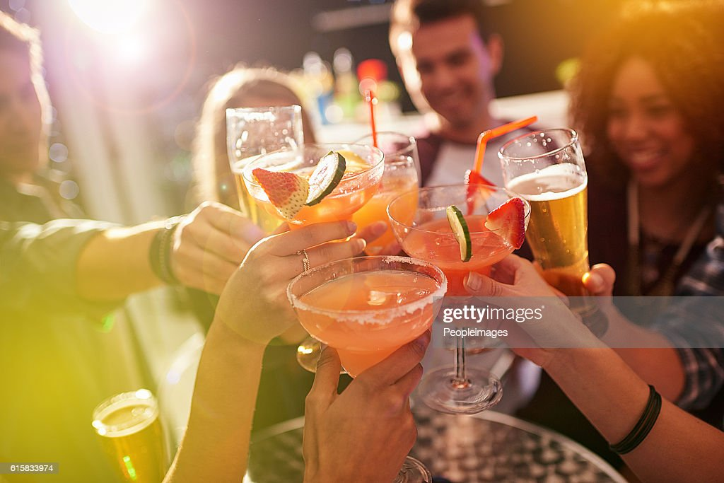 Ringing in the weekend : Stock Photo