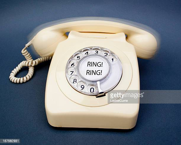 Ringing telephone