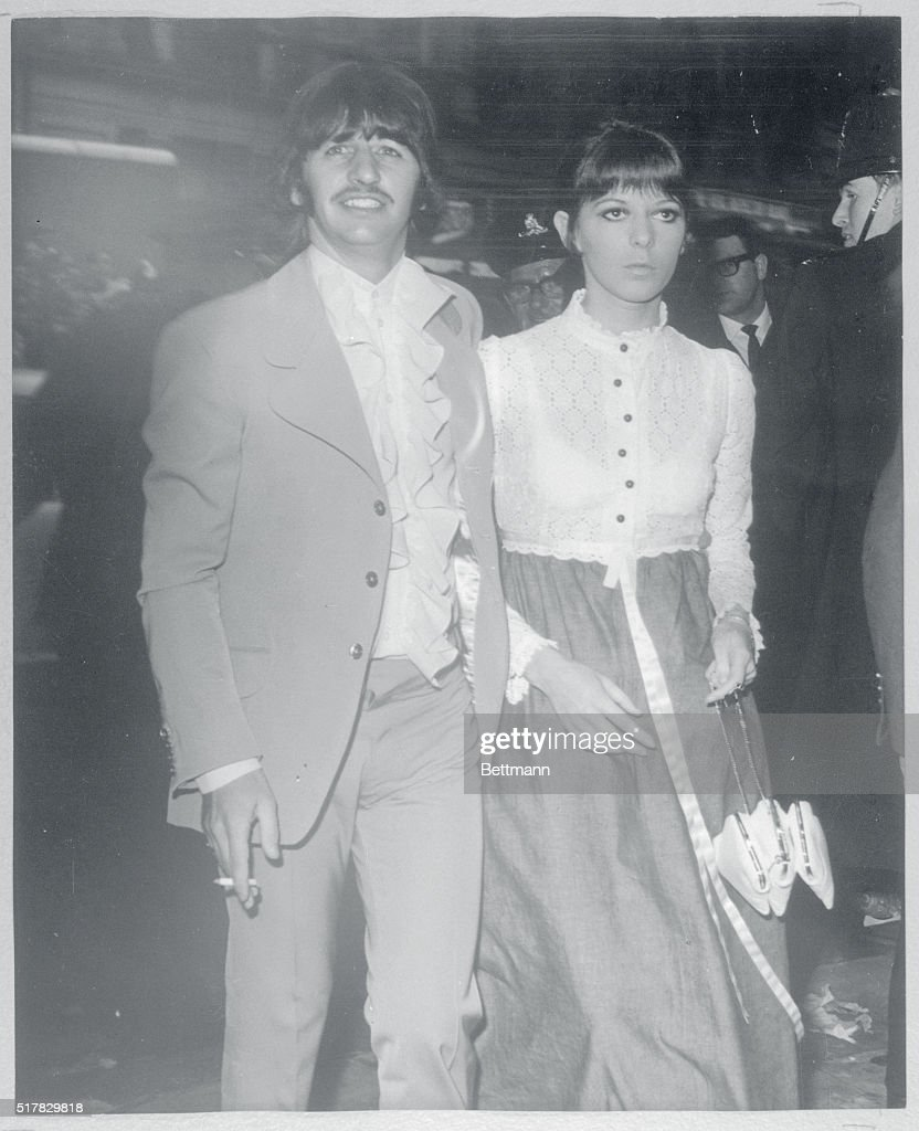 Ringo and spouse arrive...Beatle Ringo Starr and his wife ...