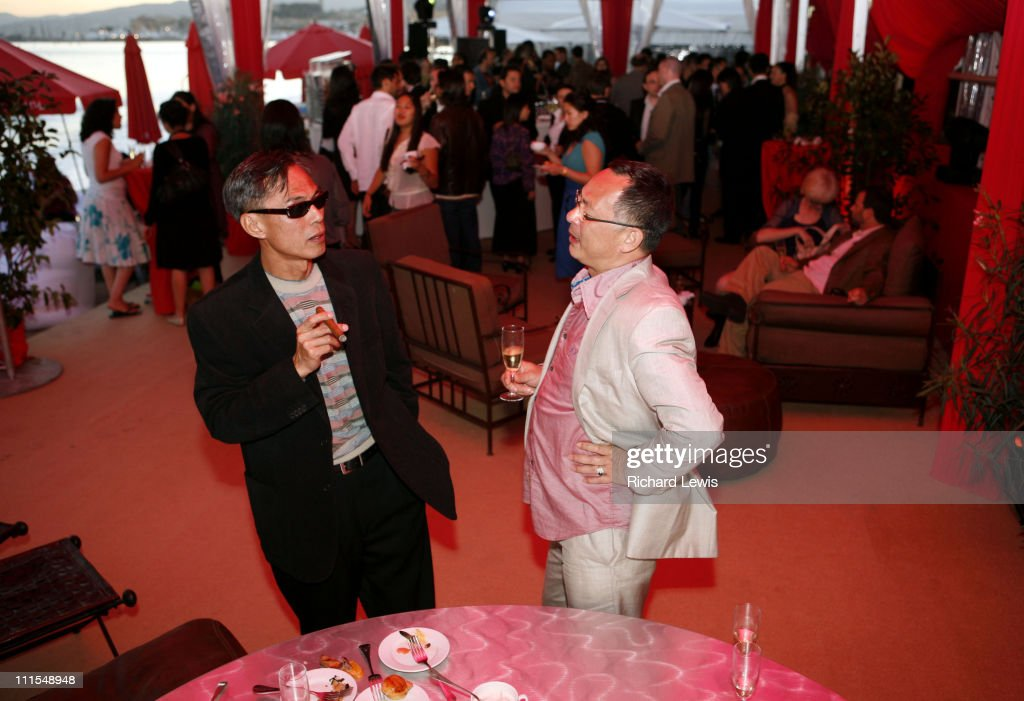 "2007 Cannes Film Festival - Miramar ""Triangle"" Party"