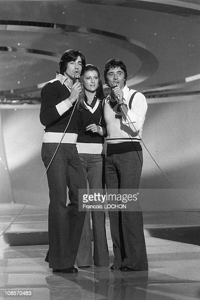 Ringo Sheila Sacha Distel in France in 1975