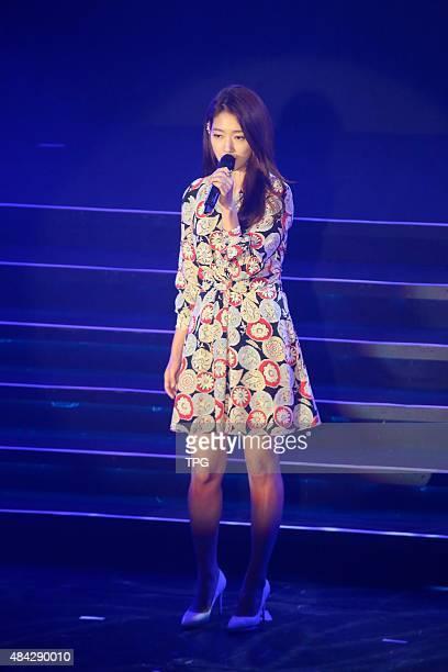 Ringo Shiina holds her concert on 16th August 2015 in Taipei Taiwan China