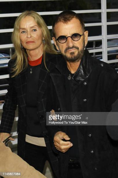 Ringo Starr and Barbara Bach are seen on May 23 2019 in Los Angeles