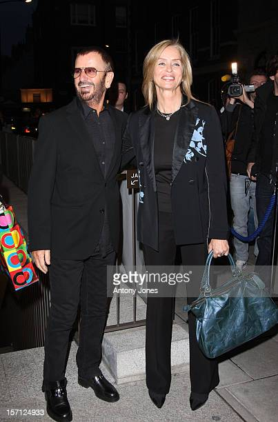 Ringo Starr And Barbara Bach Attend An Exhibition Of Photographs By Linda Mccartney Which Go On Show To Mark 10Th Anniversary Of Her Death London