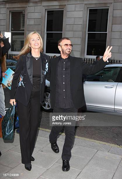Ringo Starr And Barbara Bach Attend An Exhibition Of Photographs By Sir Paul Mccartney'S Late Wife Which Go On Show To Mark 10Th Anniversary Of Her...