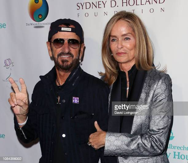 Ringo Starr and Barbara Bach Starkey attend the Peggy Albrecht Friendly House's 29th Annual Awards Luncheon at The Beverly Hilton Hotel on October 27...