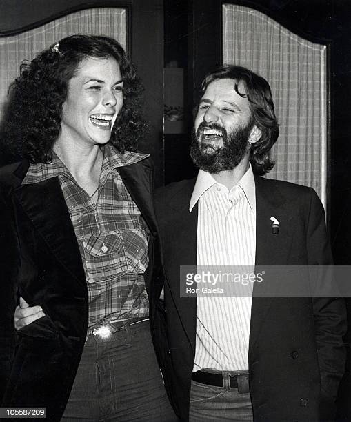 Ringo Starr and girlfriend Nancy Lee Andrews during Ringo Starr Sighting at Mr Chows Restaurant January 17 1978 at Mr Chows Restaurant in Beverly...