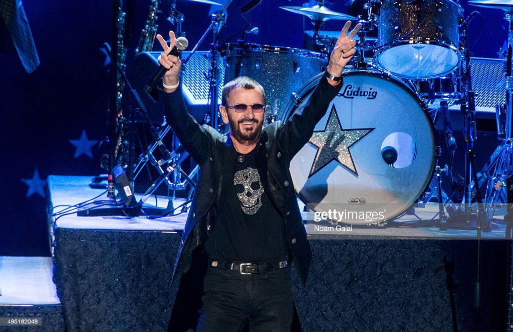 Ringo Starr and His All-Starr Band perform at Kings Theatre on October 31, 2015 in the Brooklyn Borough of New York City.