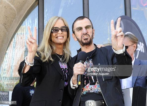 Ringo Starr and his wife Barbara Bach are celebrating his ...