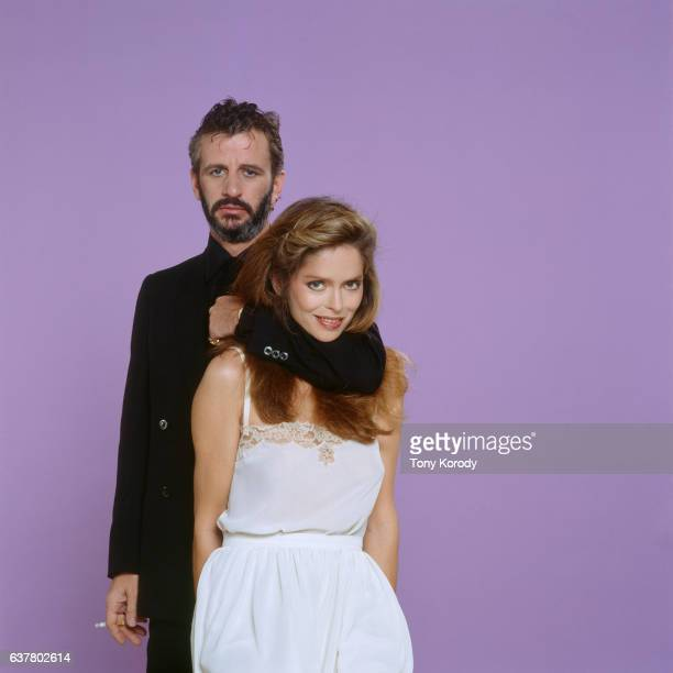 Ringo Starr and His Wife Barbara Bach circa 1981