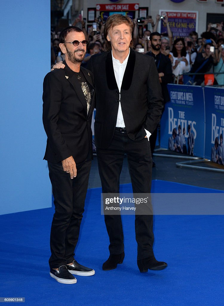 """""""The Beatles: Eight Days A Week - The Touring Years"""" - World Premiere - Red Carpet Arrivals. : News Photo"""