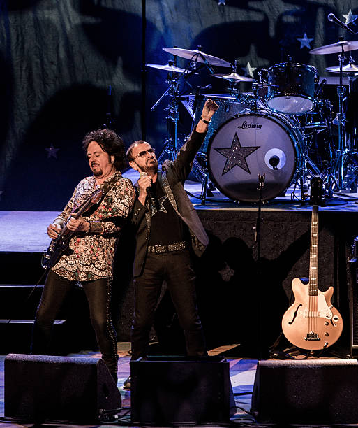 Ringo Starr And Steve Lukather Perform With His All Band At