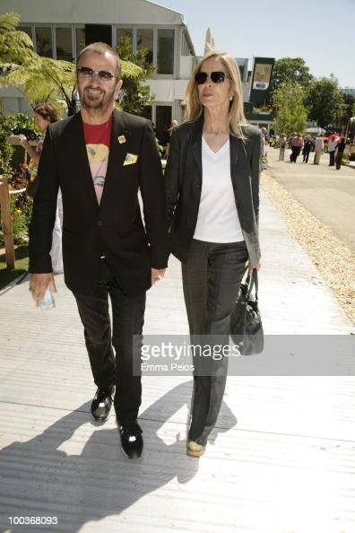 Ringo Starr and wife Barbara Bach attends the Press & VIP ...