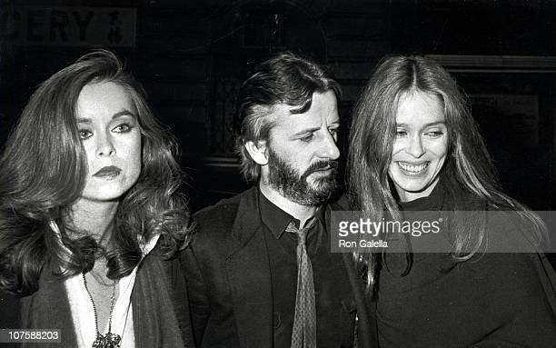 Ringo Starr and Wife Barbara Bach with Barbara's sister Marjorie Bach