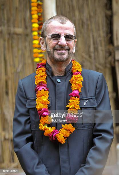 Ringo Starr attends the Chelsea Flower Show press and VIP preview day at Royal Hospital Chelsea on May 20, 2013 in London, England.