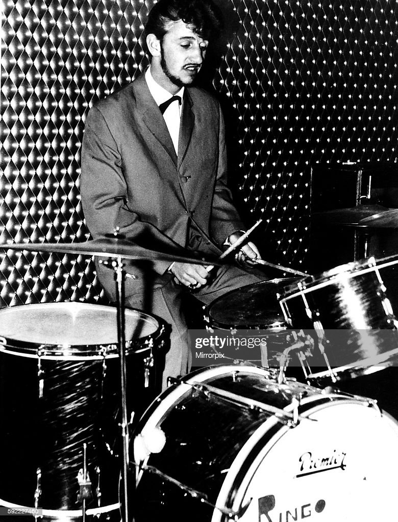 Ringo Starr Beatles Drummer Pictured Before He Joined The Circa 1962