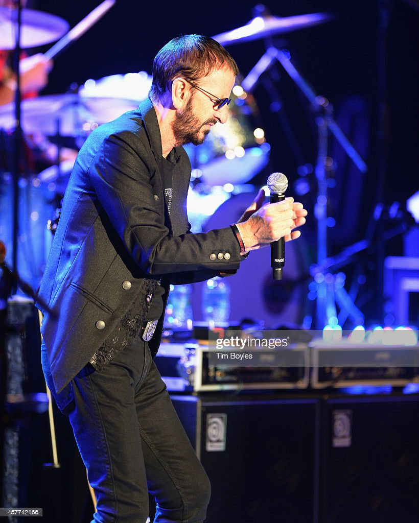 Ringo Starr & His All-Starr Band perform at Ruth Eckerd Hall on October 23, 2014 in Clearwater, Florida.