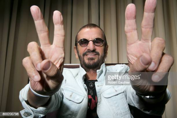 Ringo Starr is photographed for Los Angeles Times on July 12 2017 in Los Angeles California PUBLISHED IMAGE CREDIT MUST READ Robert Gauthier/Los...