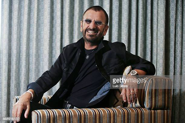 LOS ANGELES CA MARCH 01 2015 Ringo Starr is photographed for Los Angeles Times on March 1 2015 in Los Angeles California PUBLISHED IMAGE CREDIT MUST...