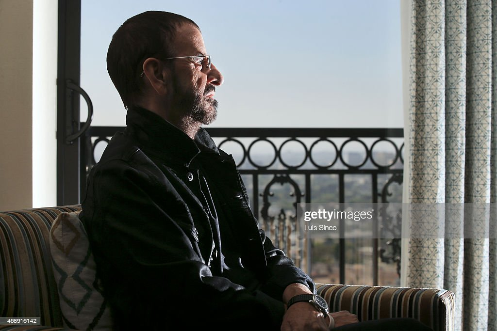 LOS ANGELES - CA - MARCH 01, 2015 -Ringo Starr is photographed for Los Angeles Times on March 1, 2015 in Los Angeles, California. PUBLISHED IMAGE.
