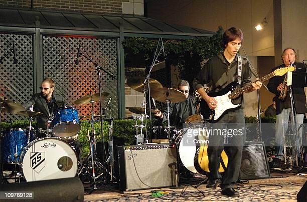 Ringo Starr, Jim Keltner, Dhani Harrison and Chuck Findley