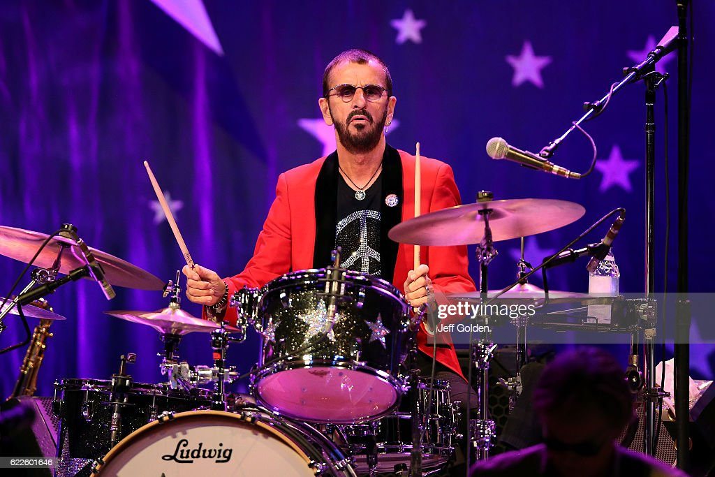 Ringo Starr of Ringo Starr & His All Starr Band performs ...