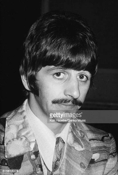 Ringo Starr of The Beatles during the recording session for the song 'The Fool On The Hill' at EMI Studios Abbey Road London September 25 1967