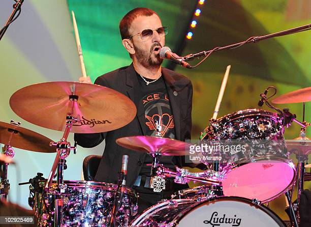 Ringo Starr performs at Hard Rock Live! in the Seminole Hard Rock Hotel & Casino on July 15, 2010 in Hollywood, Florida.