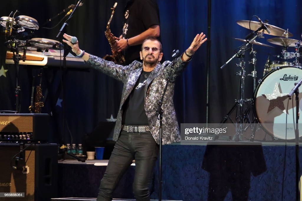 Ringo Starr & His All-Starr Band In Concert - Atlantic City : News Photo