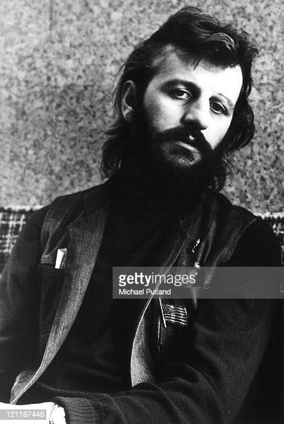 Ringo Starr Portrait London December 1972