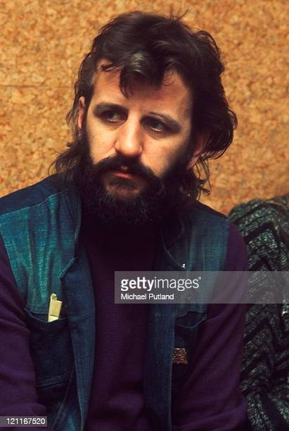 Ringo Starr portrait London December 1972
