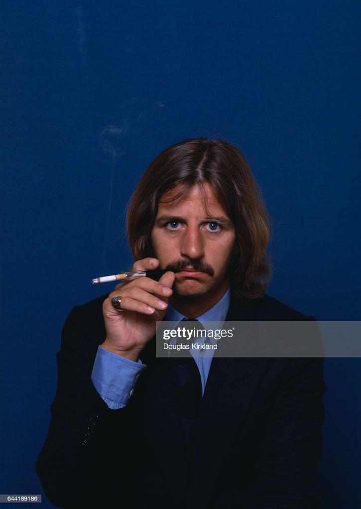 Ringo Starr Smoking Cigarette