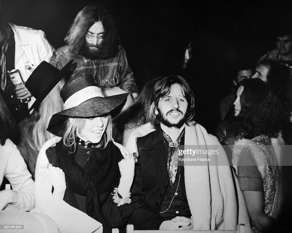 Ringo Starr With Wife Maureen And John Lennon Among 150 000 Fans Attend The Show Of