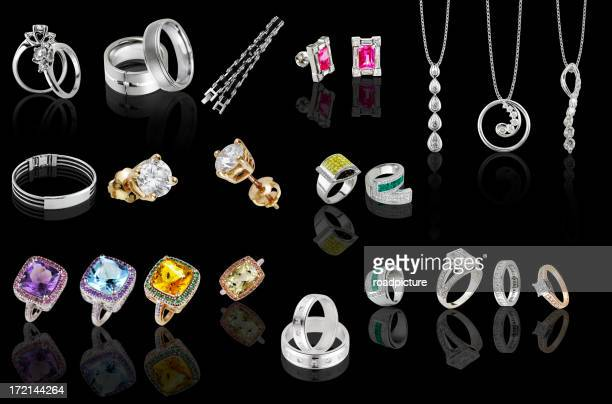 rings and pendants collection II