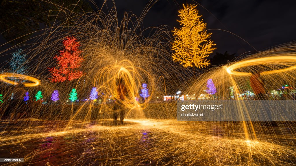 Rings of fire : Stock Photo
