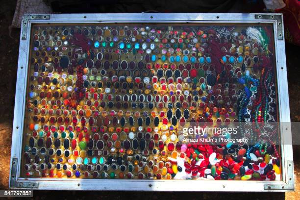 rings of luck - good luck charm - lal shahbaz qalandar stock pictures, royalty-free photos & images