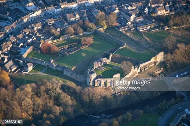 Ringwork and later shell keep castle Barnard Castle County Durham 2013 Artist Historic England Staff Photographer