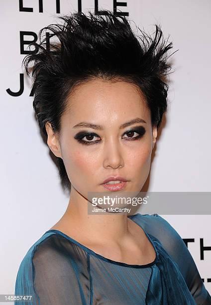 Rinko Kikuchi attends Chanel'sThe Little Black Jacket Event at Swiss Institute on June 6 2012 in New York City